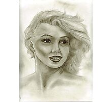 Candle in the Wind - Marilyn Monroe aka Norma Jeane  Photographic Print