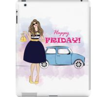 Happy Friday!  iPad Case/Skin