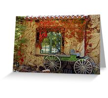 Corrales Country Cottage Greeting Card