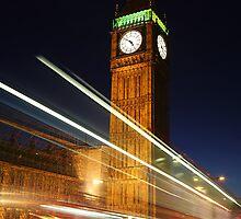 Big Ben - London by Adam Gormley
