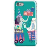 Fun Circus Elephant iPhone Case/Skin