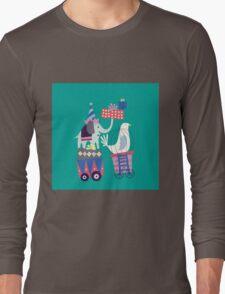 Fun Circus Elephant Long Sleeve T-Shirt