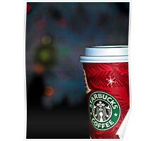 Christmas Coffee Poster