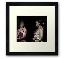 Gunung Agung Women Framed Print