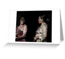 Gunung Agung Women Greeting Card