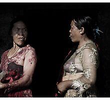Gunung Agung Women Photographic Print