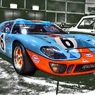 GT40  by MIGHTY TEMPLE IMAGES