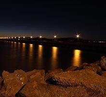 Night Lights of Berkeley Pier by pulen