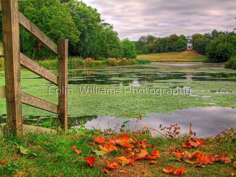 The Lake - Painshill Park - HDR by Colin  Williams Photography