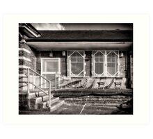 Fairlop Tube Station Art Print