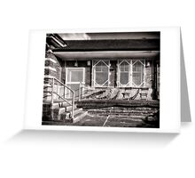 Fairlop Tube Station Greeting Card
