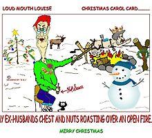 CHRISTMAS CAROL CARD by URBANRATS