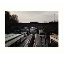 Finchley Central Tube Station Art Print