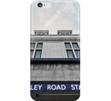 Finchley Road Tube Station iPhone Case/Skin