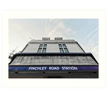Finchley Road Tube Station Art Print