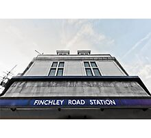 Finchley Road Tube Station Photographic Print