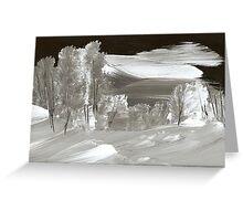 Night of Snow Greeting Card