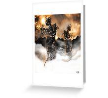 Mechanised Desert wanderers [Digital Figure Illustration] Version 2 Greeting Card