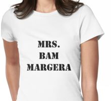 Mrs. Bam Margera Womens Fitted T-Shirt