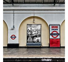 Fulham Broadway Tube Station Photographic Print