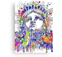 Spirit of the city Canvas Print