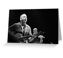 Damien Dempsey Greeting Card