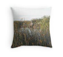 Sunrise Williamstown Wetlands Rifle Range Wetlands Throw Pillow