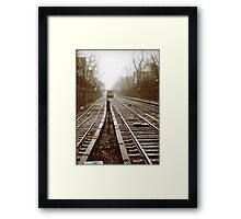 Subway Framed Print