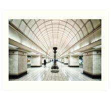 Gants Hill Tube Station Art Print
