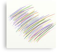 AB stract - Lines - First Canvas Print