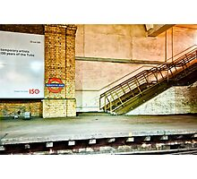 Gloucester Road Tube Station Photographic Print