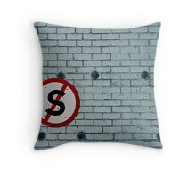 Don't stop here! Throw Pillow