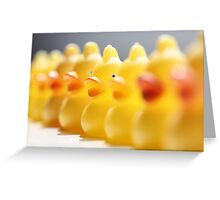 I see you duck Greeting Card