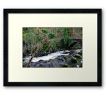 White Water - West Burton Framed Print