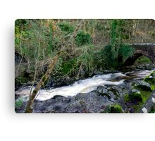 White Water - West Burton Canvas Print