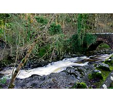 White Water - West Burton Photographic Print