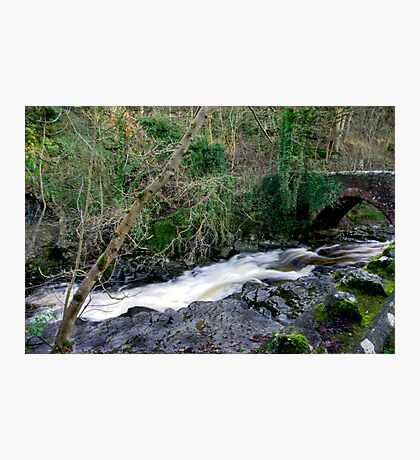 White Water - West Burton Photographic Print