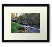 Packhorse Bridge - West Burton Framed Print