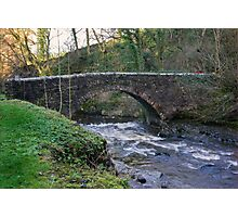 Packhorse Bridge - West Burton Photographic Print