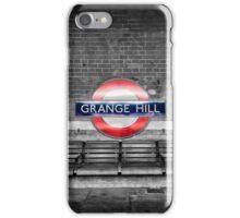 Grange Hill Tube Station iPhone Case/Skin