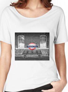 Grange Hill Tube Station Women's Relaxed Fit T-Shirt