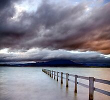 A Storm Brews, Mortimer Bay, Tasmania by James Nielsen
