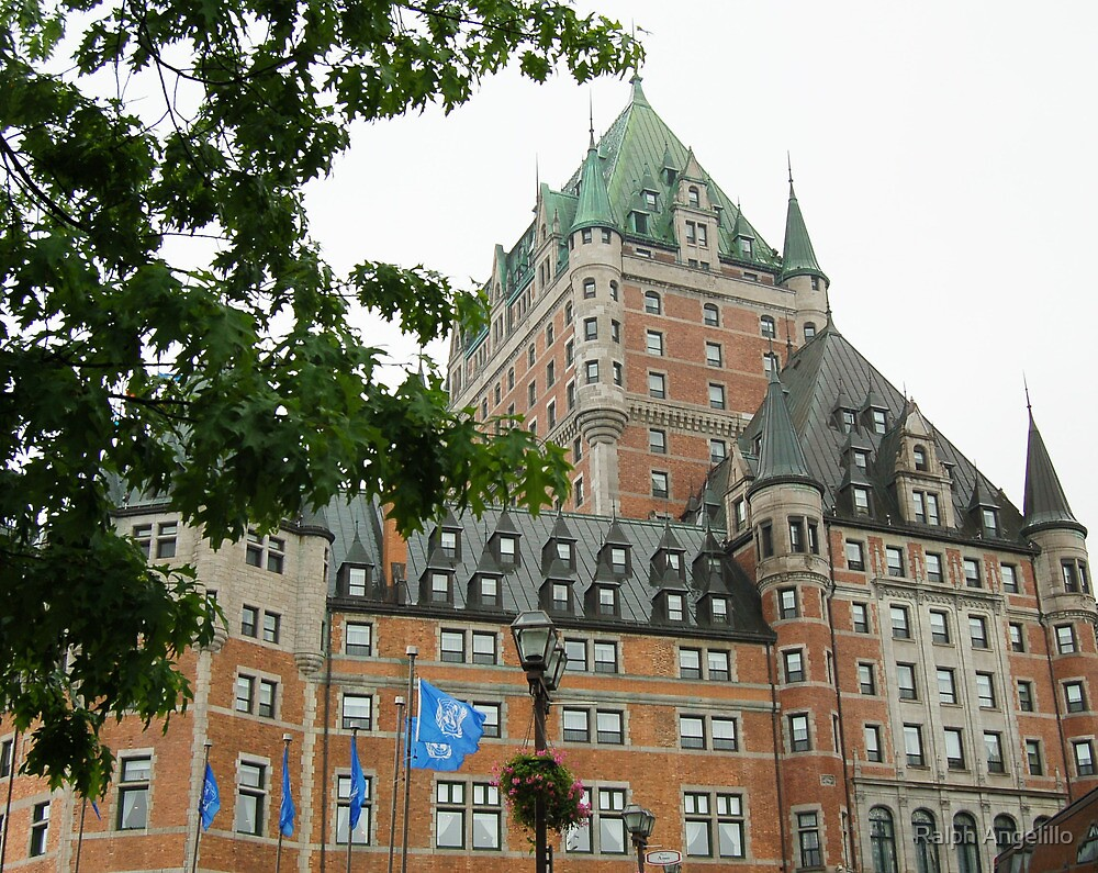 Quebec City's Chateau Frontenac by Ralph Angelillo