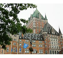 Quebec City's Chateau Frontenac Photographic Print