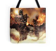 Mechanised Desert wanderers [Digital Figure Illustration] Version 3 Tote Bag