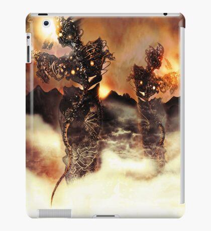 Mechanised Desert wanderers [Digital Figure Illustration] Version 3 iPad Case/Skin