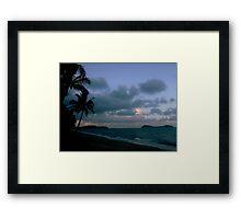 Clifton Beach, Cairns Framed Print