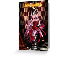 Gothic Fairy Birthday Card  Greeting Card