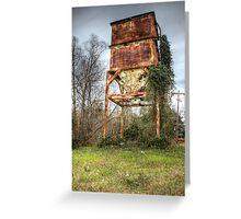 Rusty Hopper Greeting Card