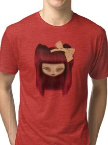 Little Happy Doll Tri-blend T-Shirt
